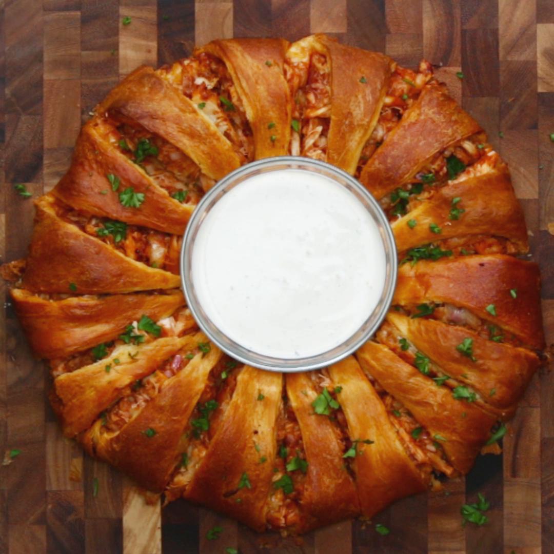 Bbq Chicken Ring Recipe By Tasty
