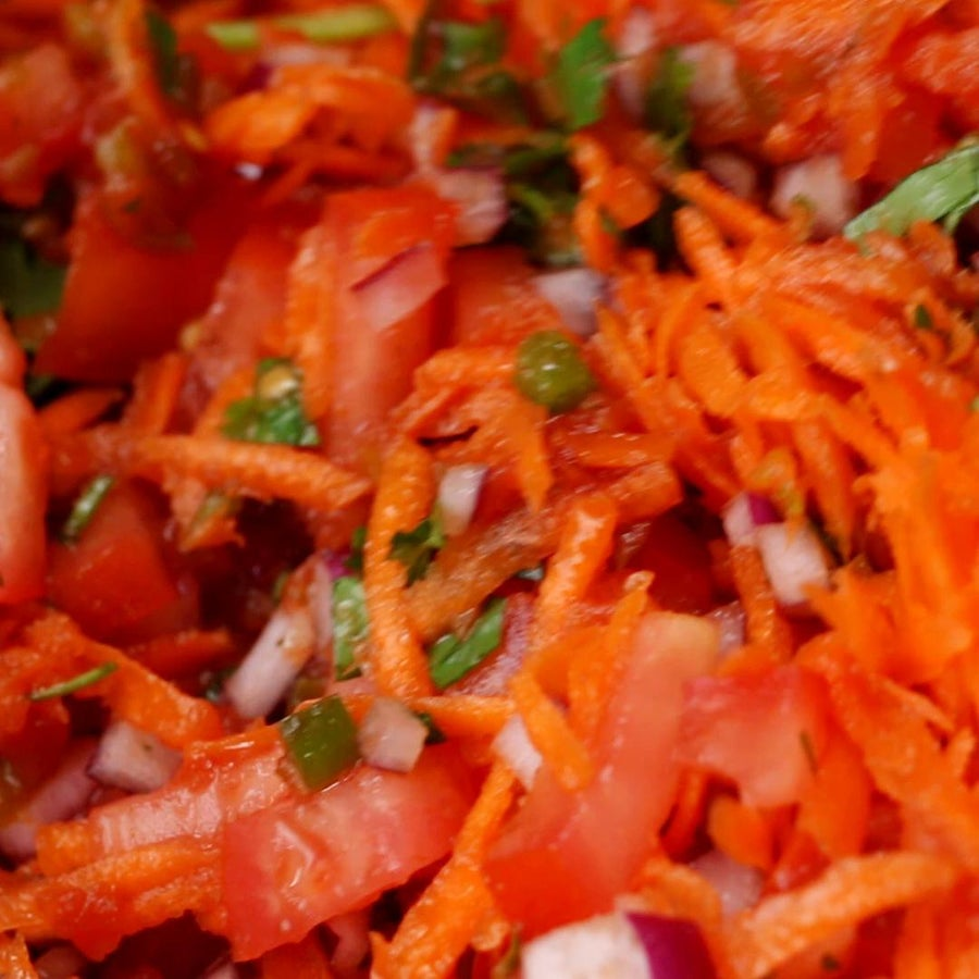 Carrot Pico De Gallo