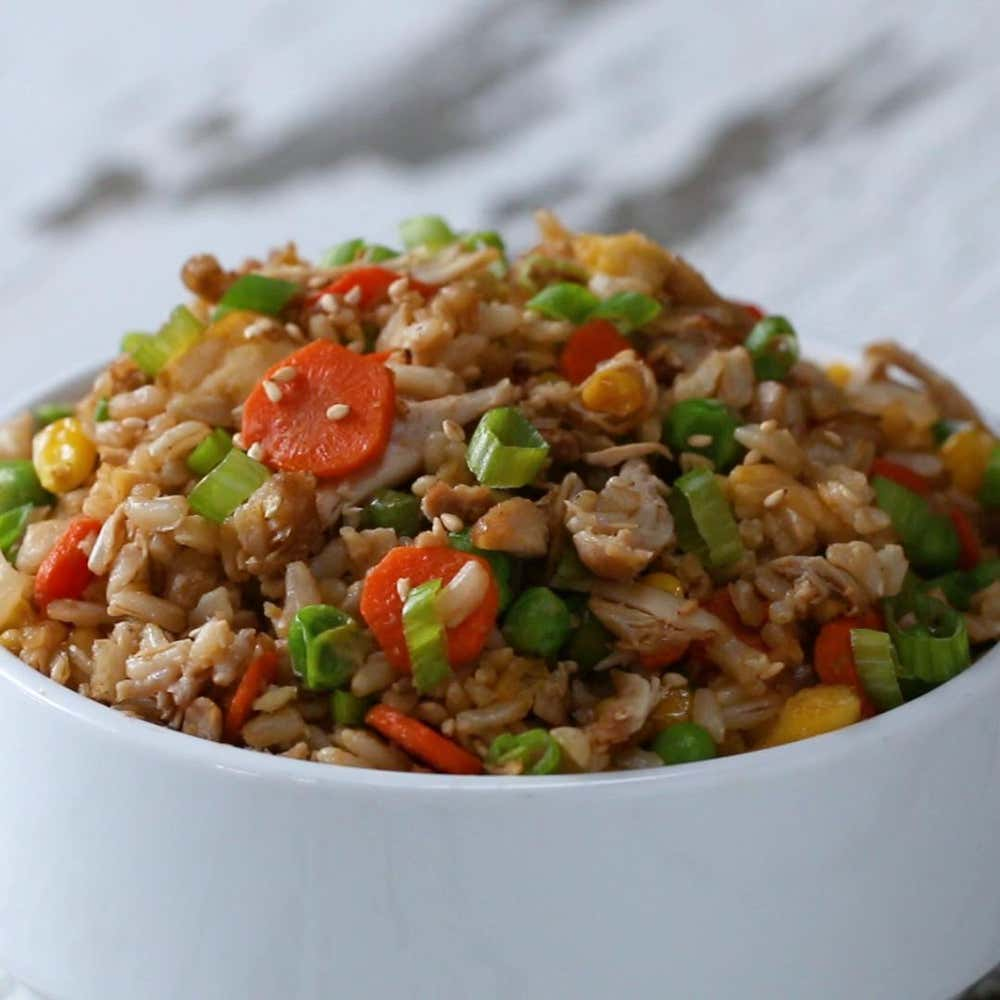 Chicken Fried Rice Recipe By Tasty