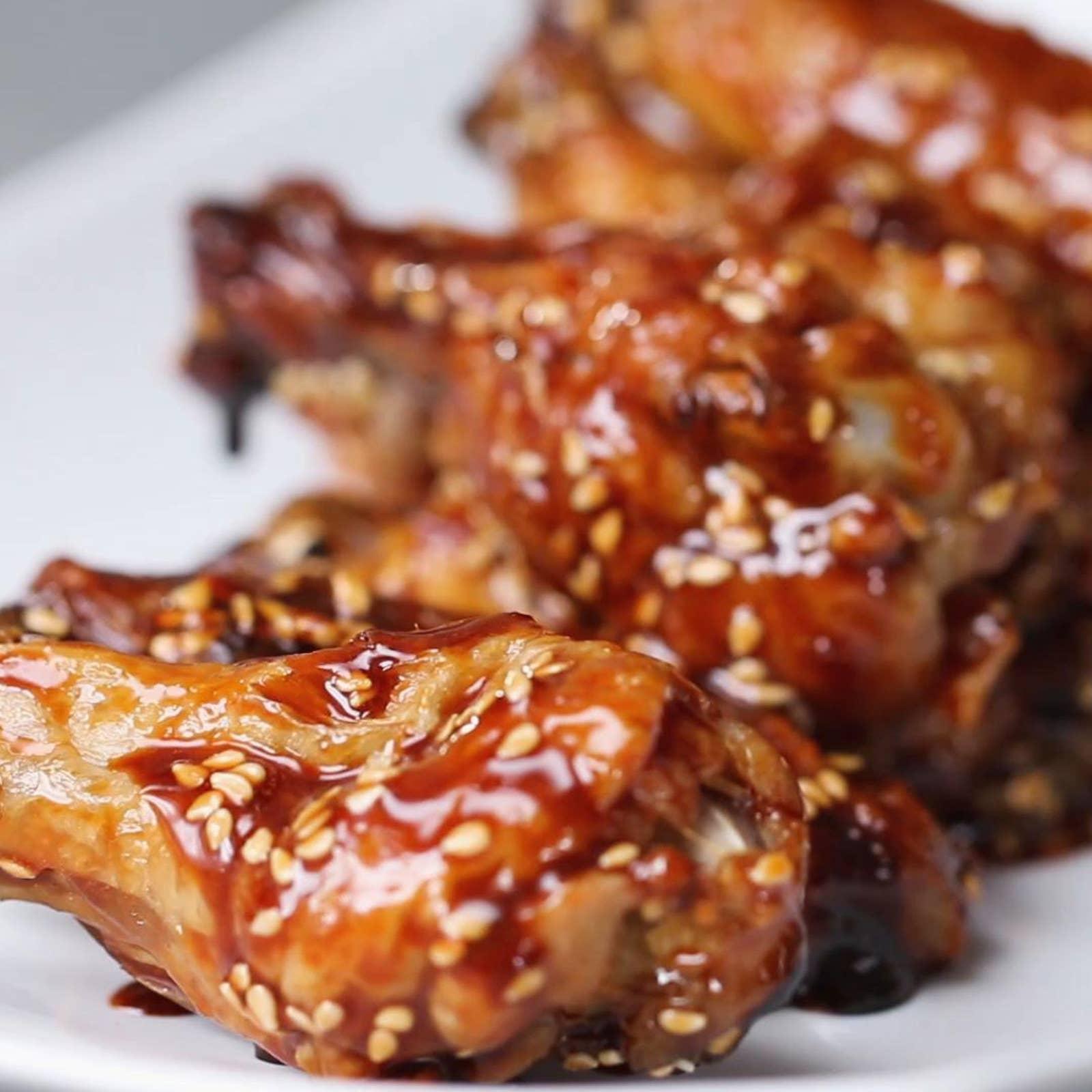 Teriyaki Baked Wings Recipe By Tasty