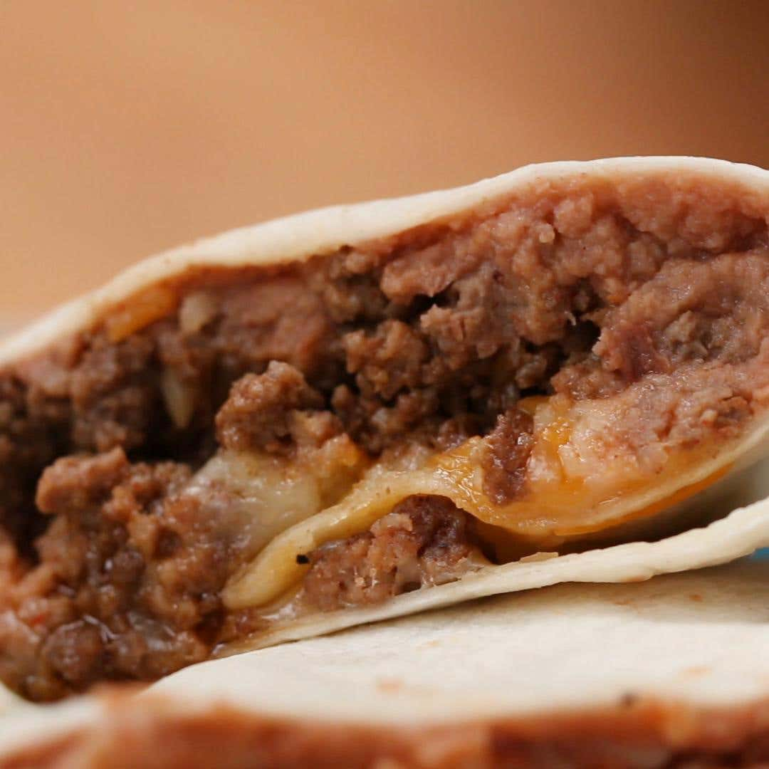 how to cook ground beef for burritos