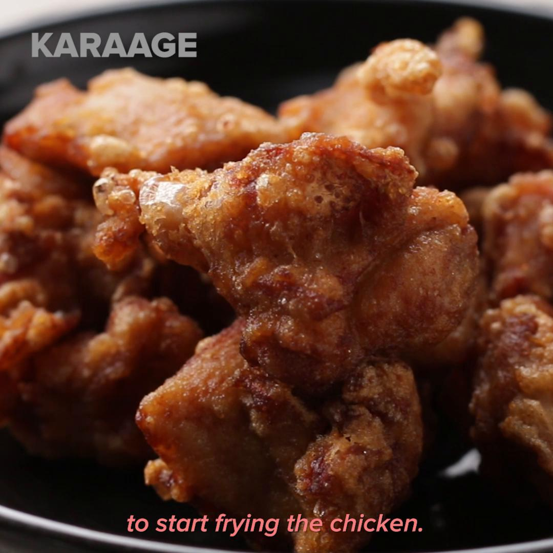 Karaage Fried Chicken Recipe By Tasty