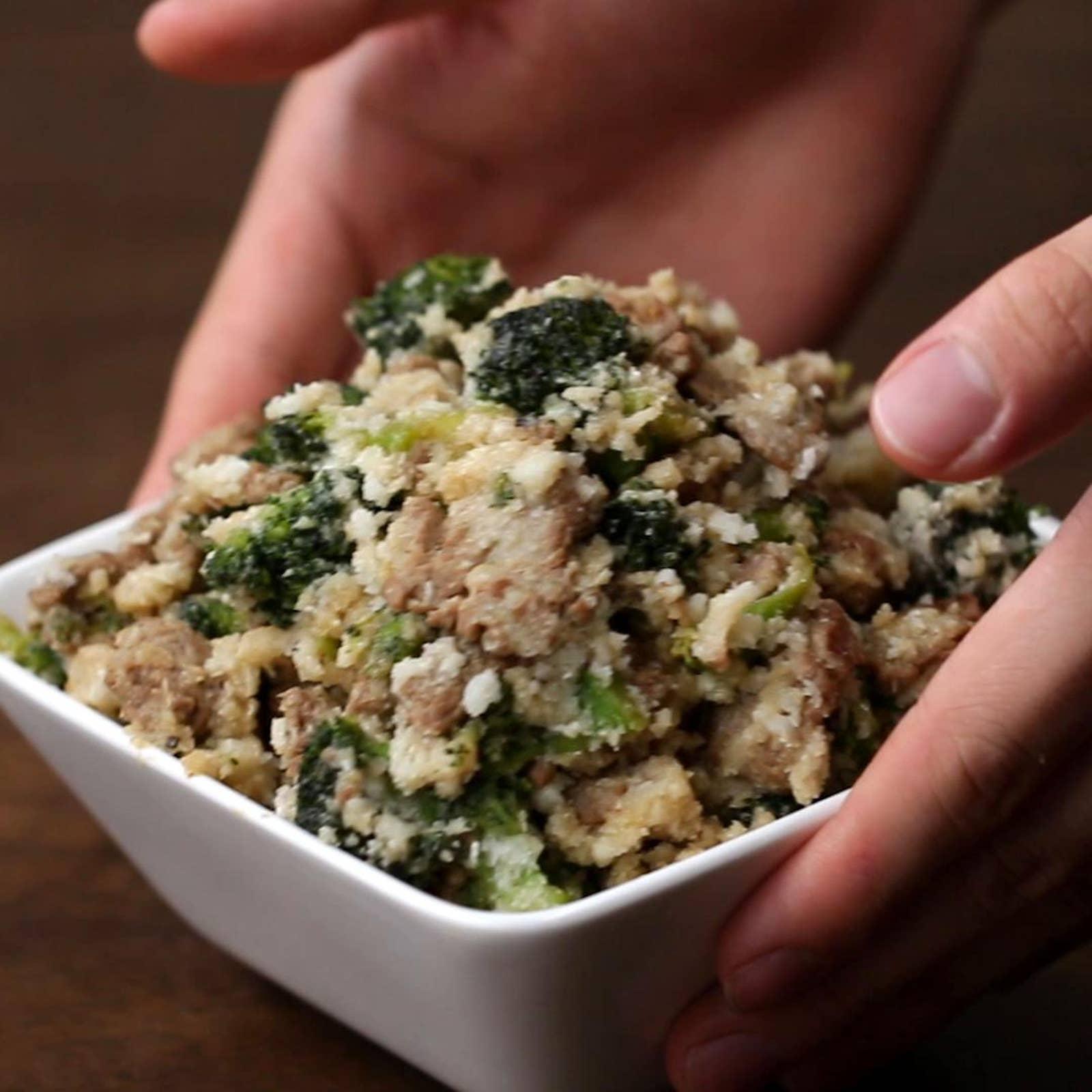 Beef & Broccoli Cauliflower Fried Rice