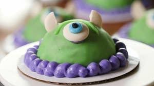 Mike Wazowski Dome Cakes