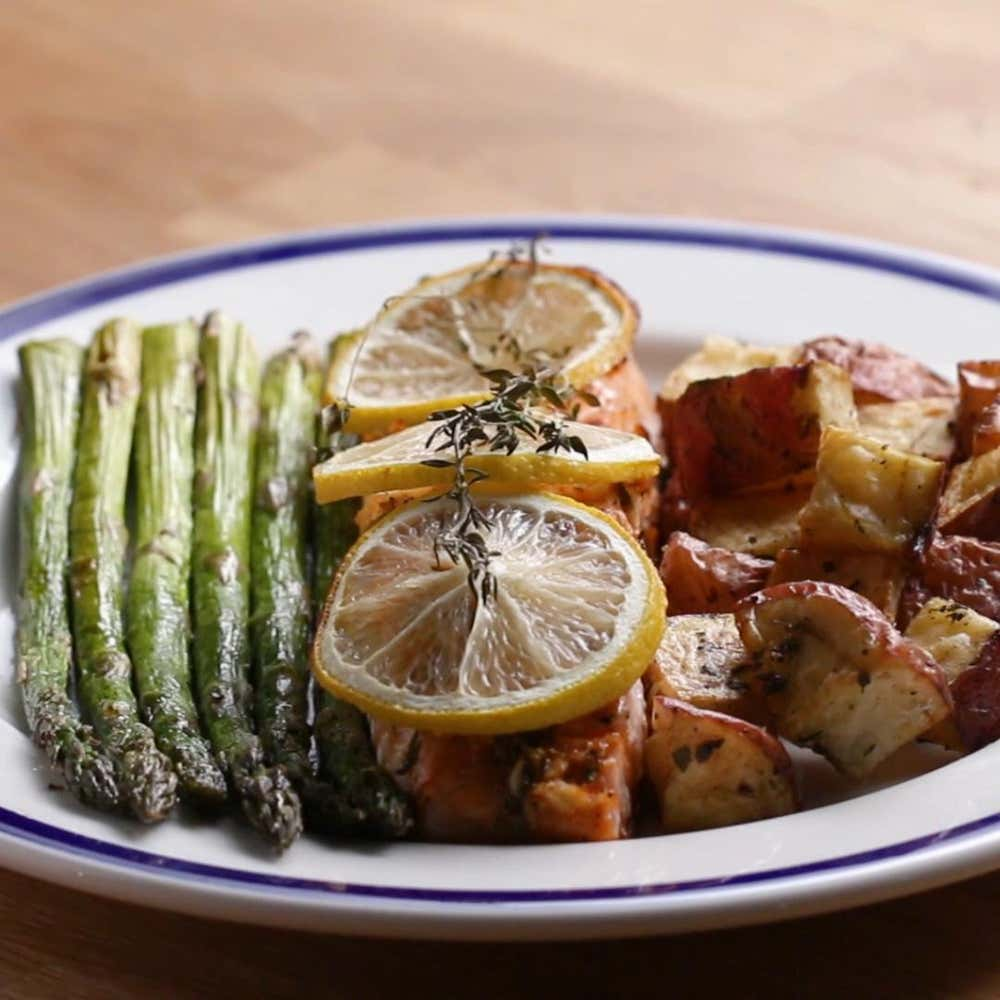 What To Have For Dinner: Easy Salmon Dinner Recipe By Tasty