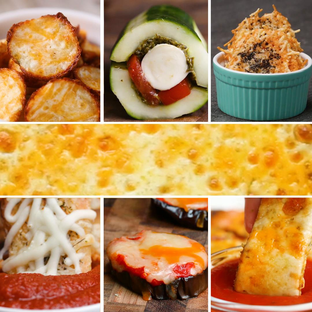 6 Cheesy Low-Carb Snacks | Recipes image