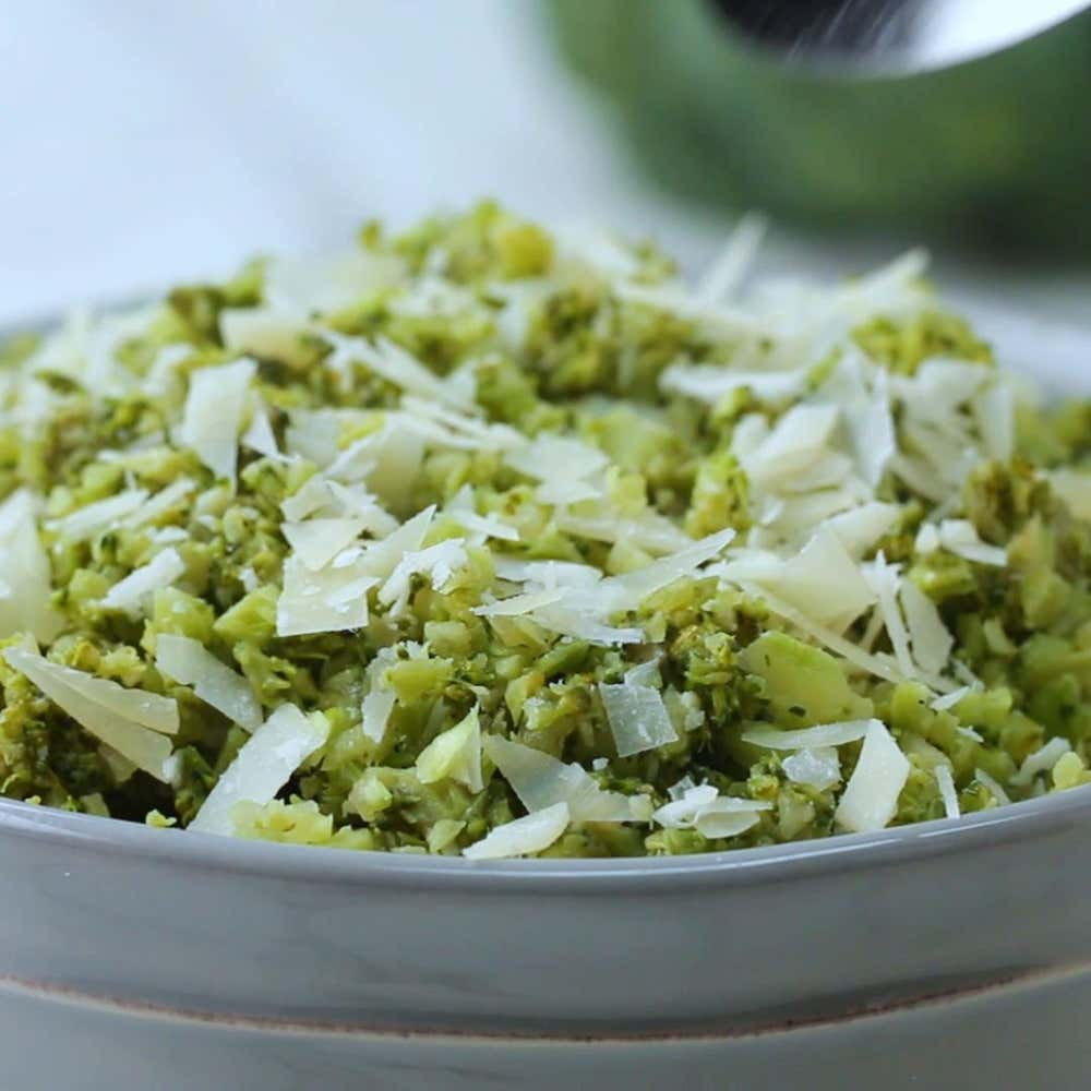 Garlic parmesan broccoli rice recipe by tasty by crystal hatch forumfinder Images