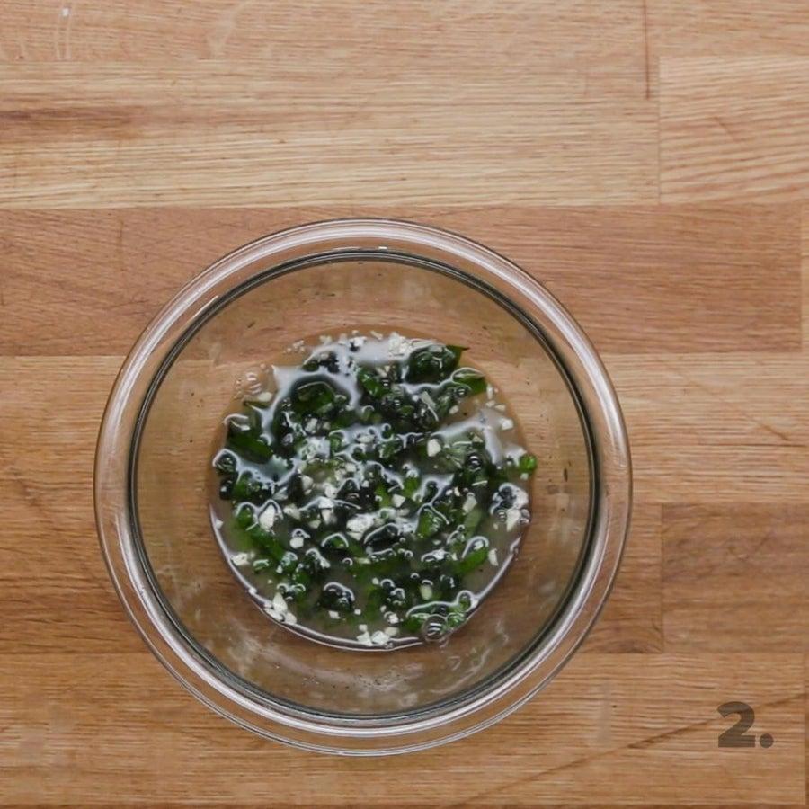 Lemon Herb Tofu Marinade