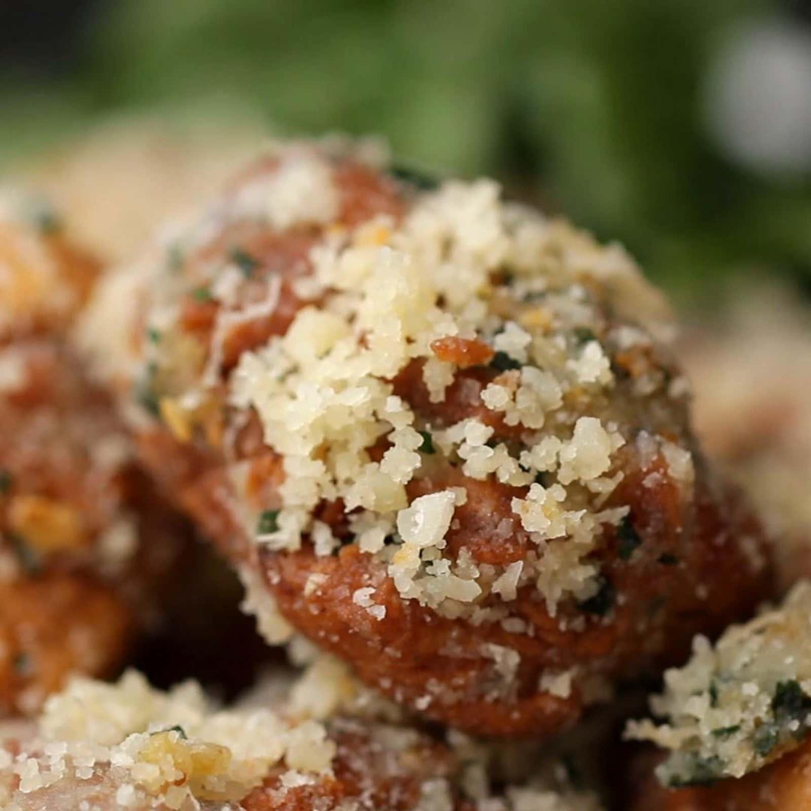 Garlic Parmesan Chicken Poppers