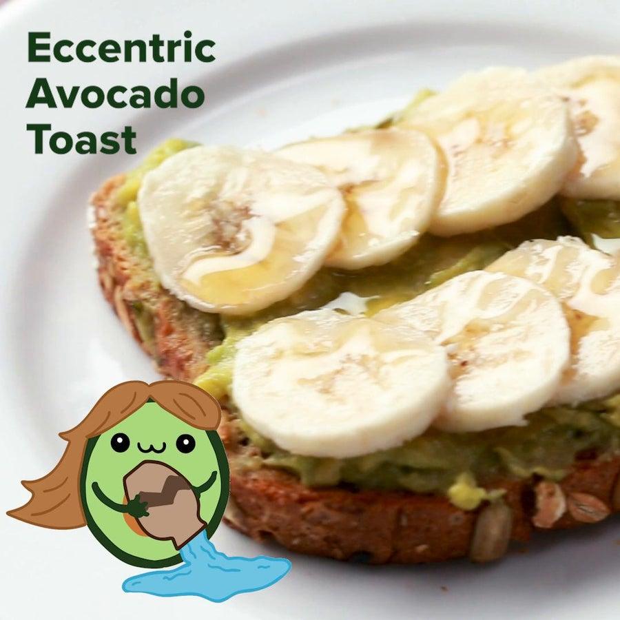 Eccentric Avocado Toast (Aquarius)