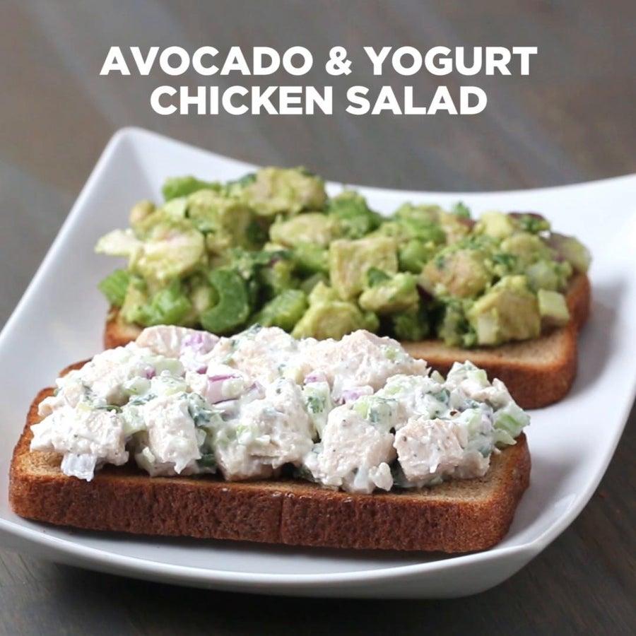 Avocado & Yogurt Chicken Salad