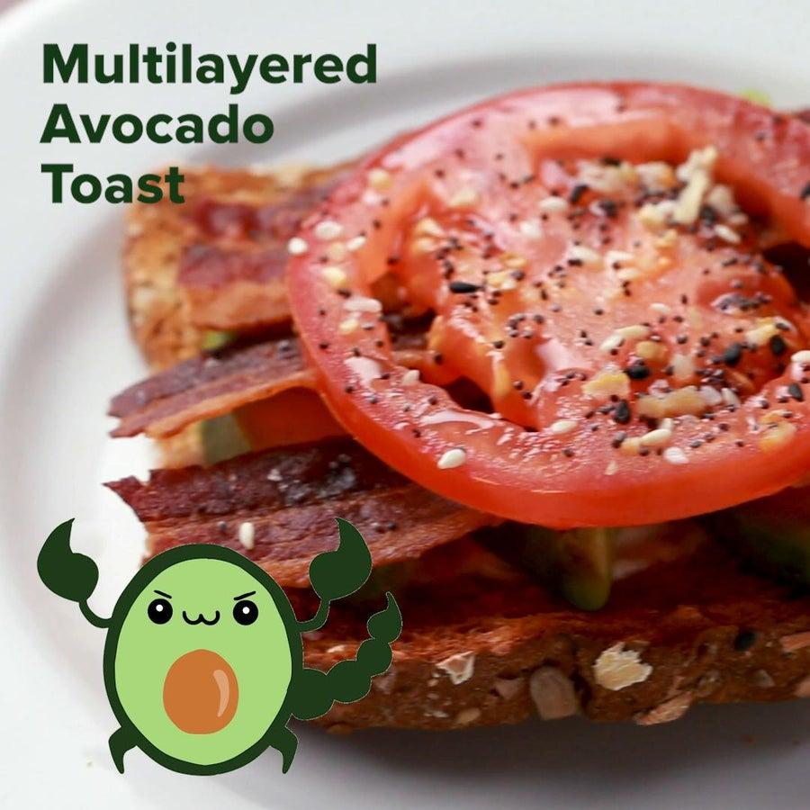 Multifaceted Avocado Toast (Scorpio)