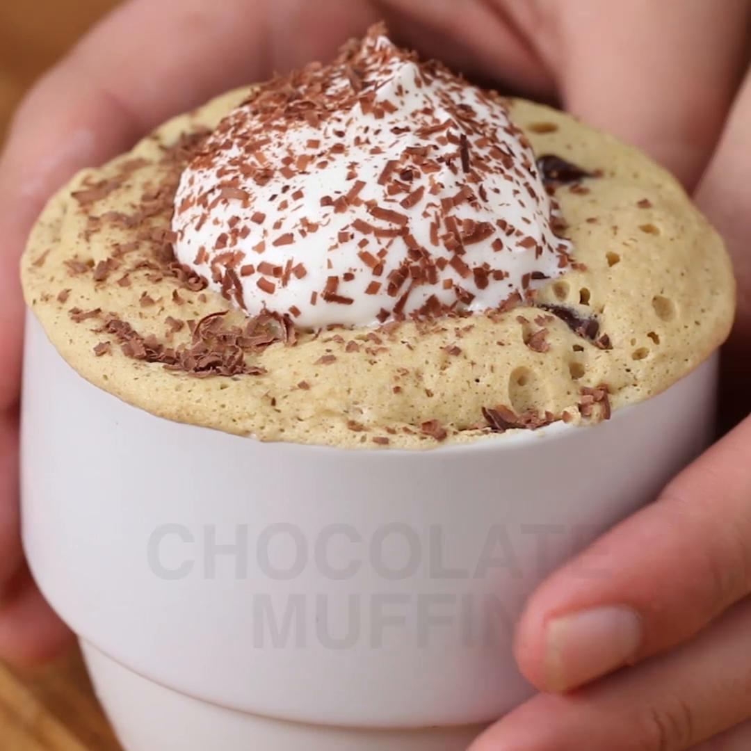 Chocolate Chip Muffin Mug Recipe By Tasty