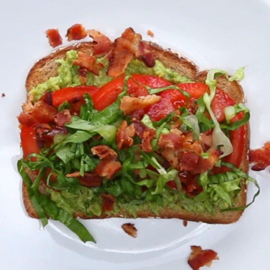 BLT Avocado Toast