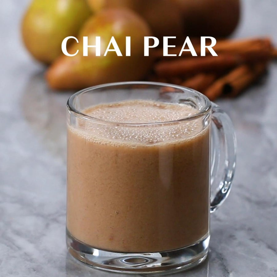Pear Chai Winter Smoothie