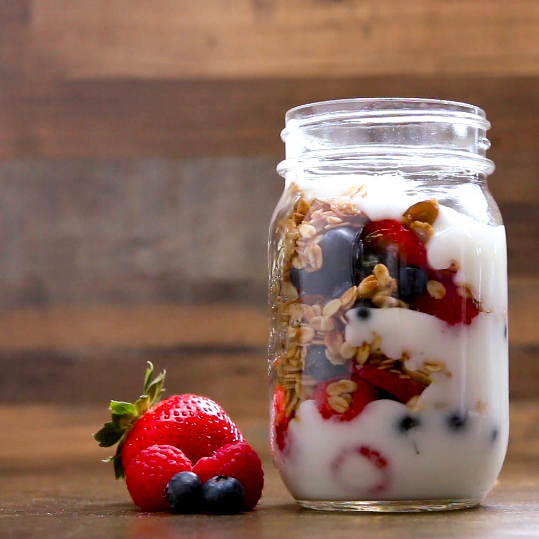 Fruit Parfait Recipe by Tasty
