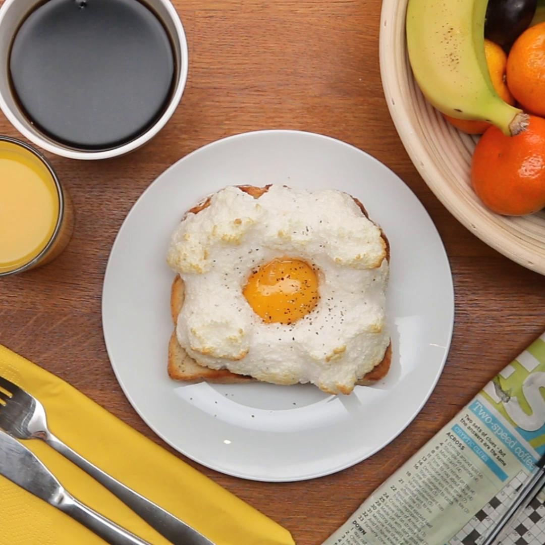 cloud eggs recipe by tasty