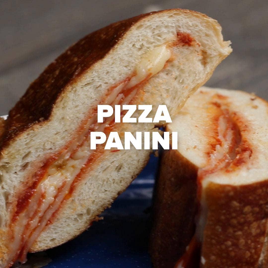Pizza Panini Sandwich Recipe By Tasty