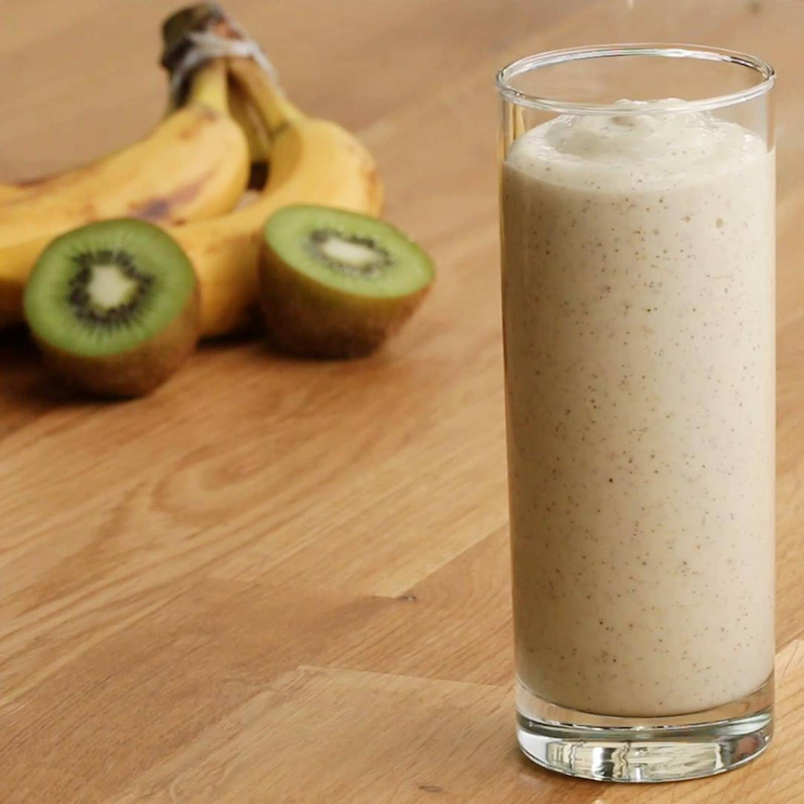 Kiwi Apple Banana Freezer-Prep Smoothie