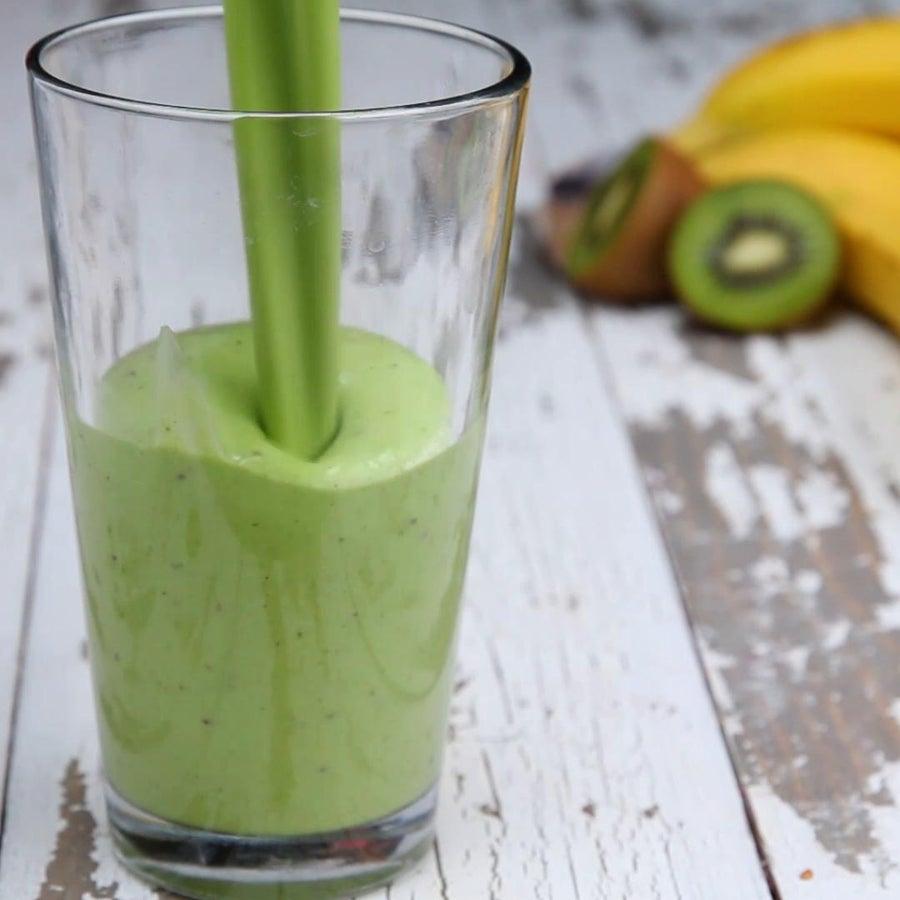 Kiwi Banana Spinach Smoothie Meal Prep