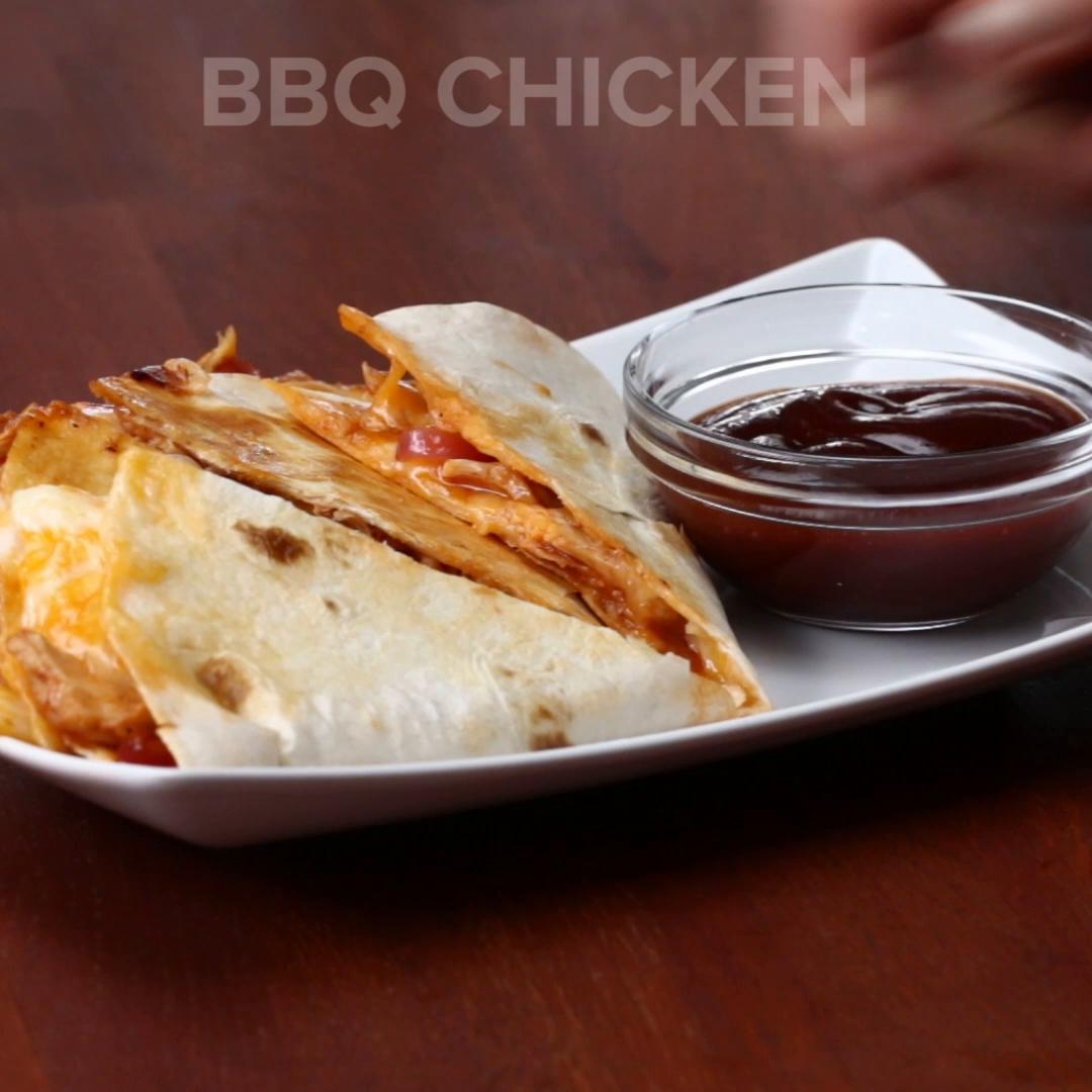 Bbq Chicken Quesadilla Recipe By Tasty