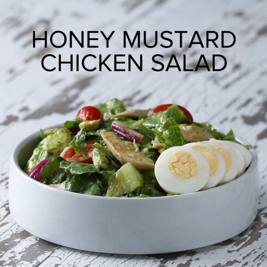 Homemade Honey Mustard Chicken Salad