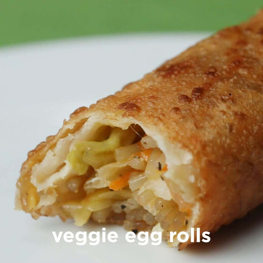 Takeout Style Veggie Egg Rolls Recipe By Tasty