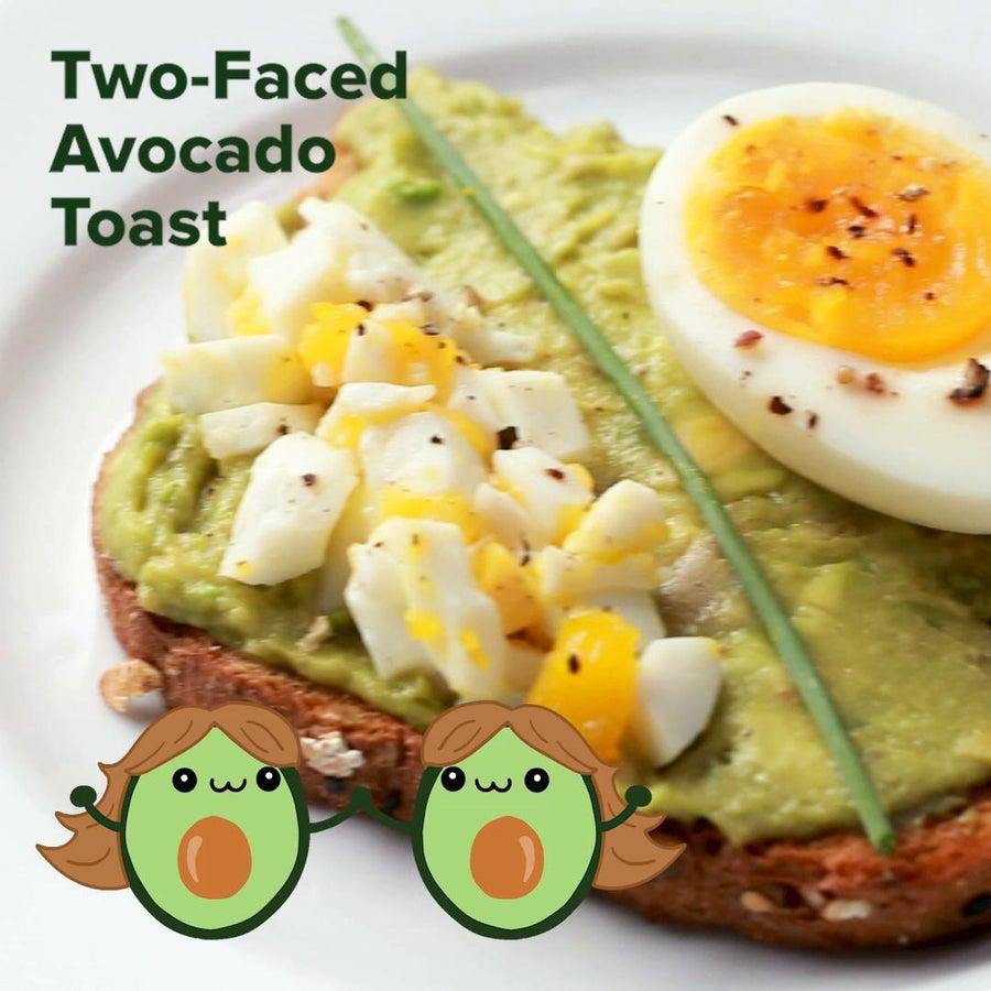 Two-Faced Avocado Toast (Gemini)