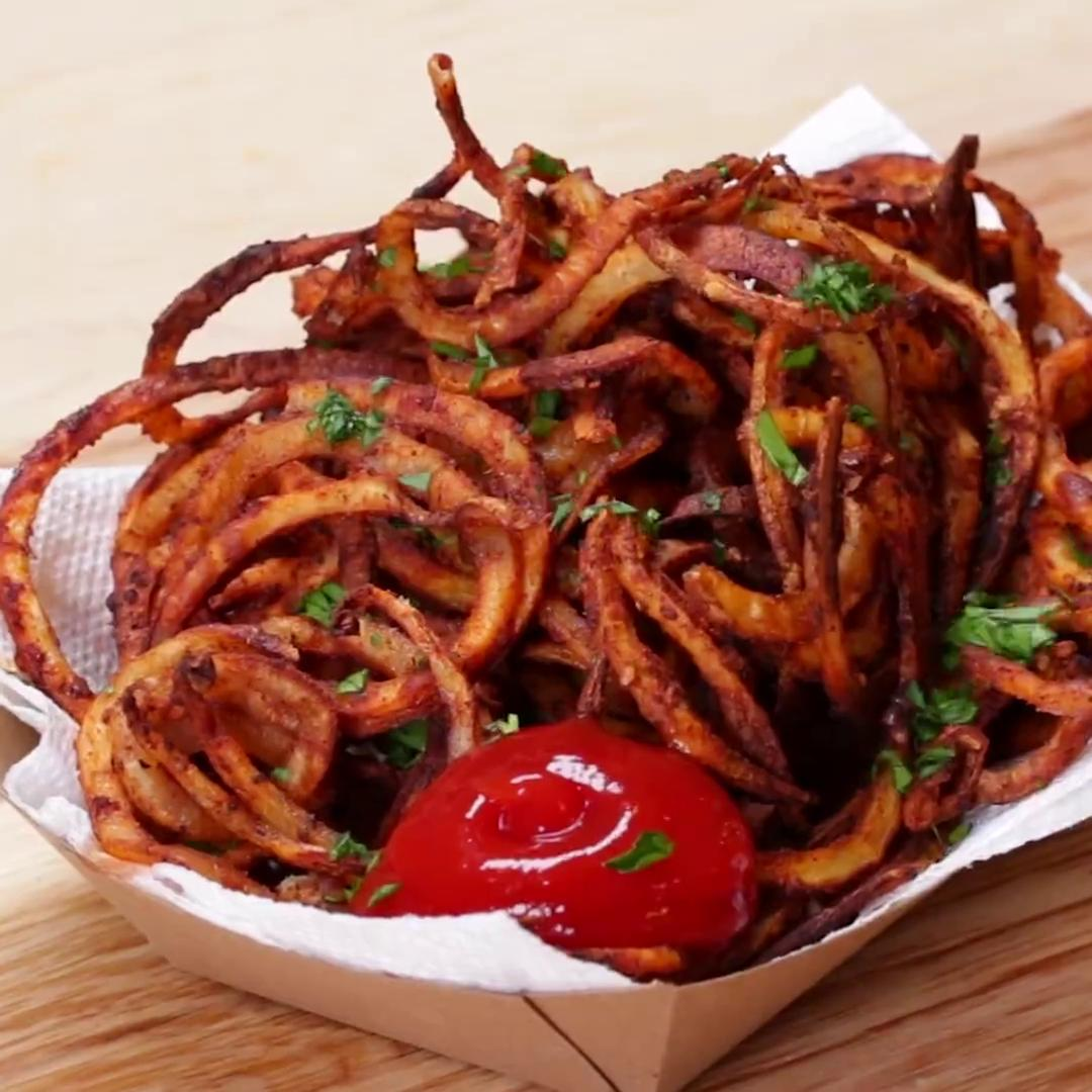 Curly Fries Recipe By Tasty