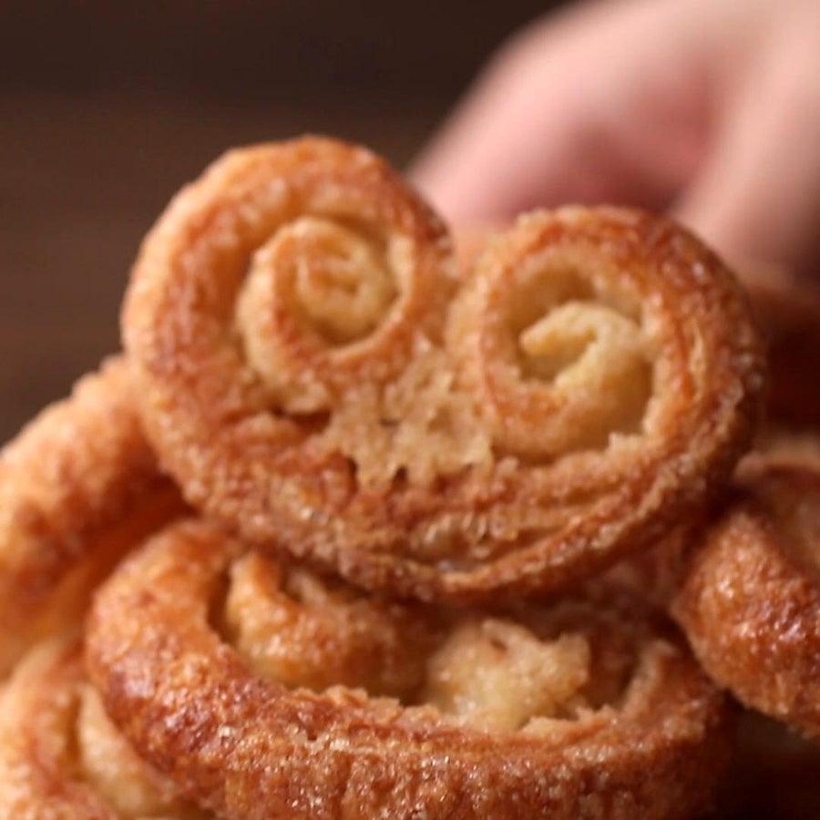 Palmier Cookies Easy Dessert