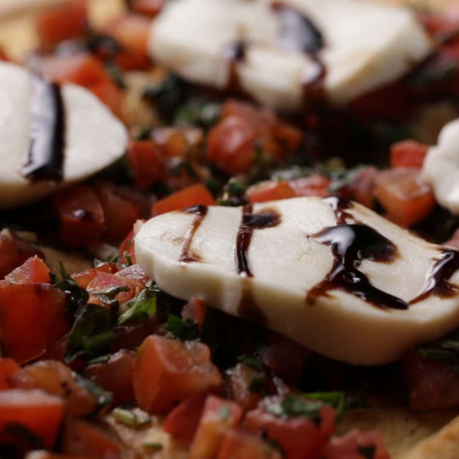 Sheet-Pan Bruschetta