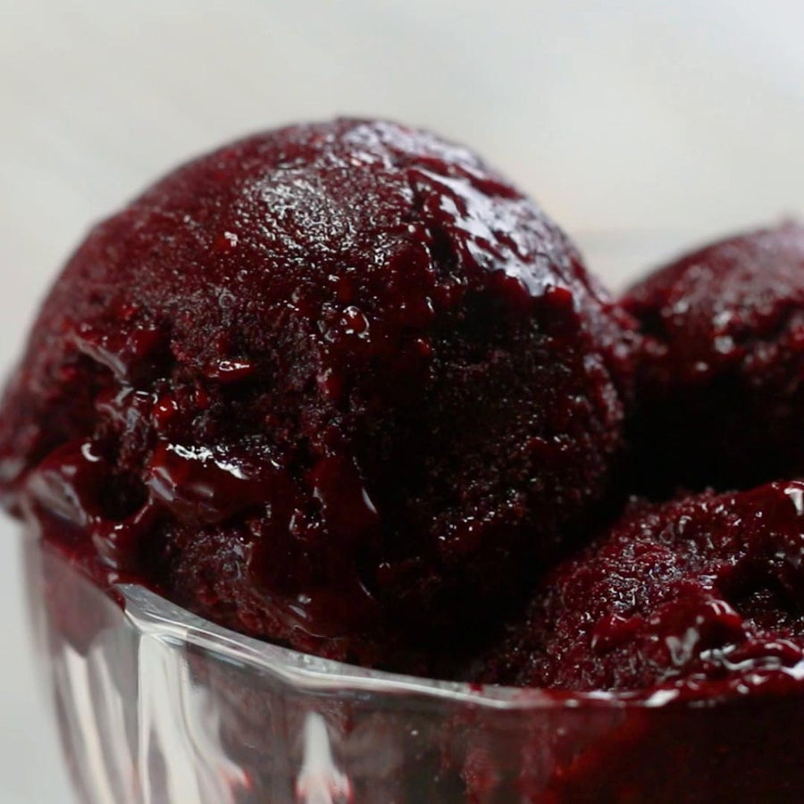 Blackberry Sorbet