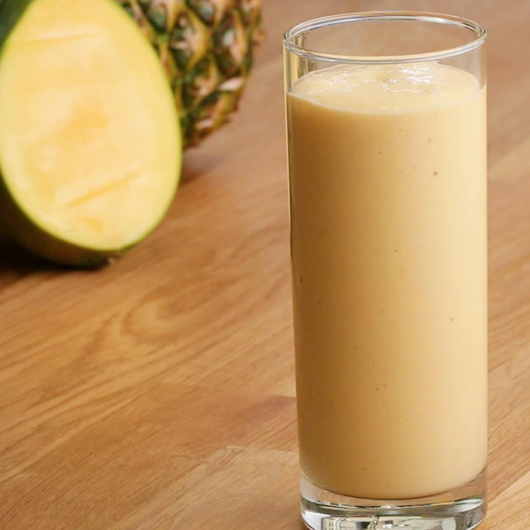 smoothie ananas yoghurt
