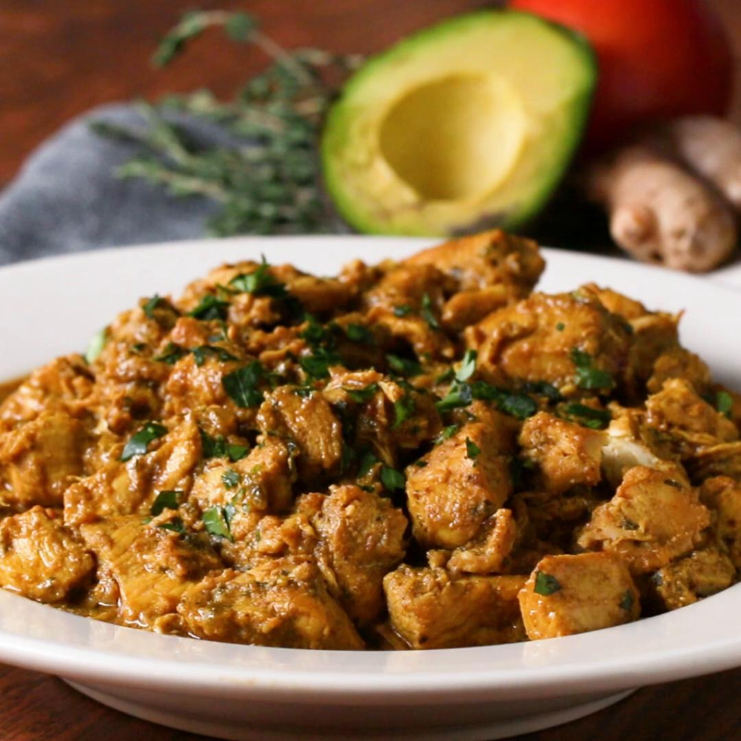 Coconut Chicken Curry Recipe by Tasty image