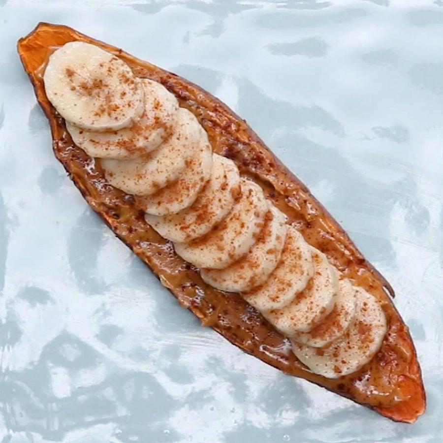 PB&B Sweet Potato Toast