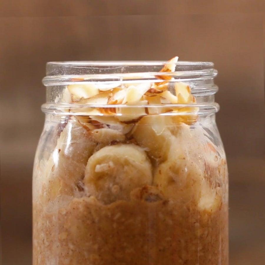 Banana Almond Oatmeal