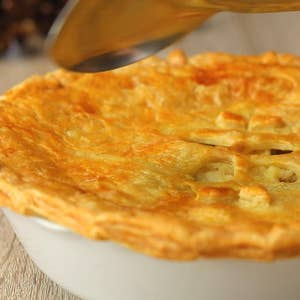 Curried Leftover Pot Pie