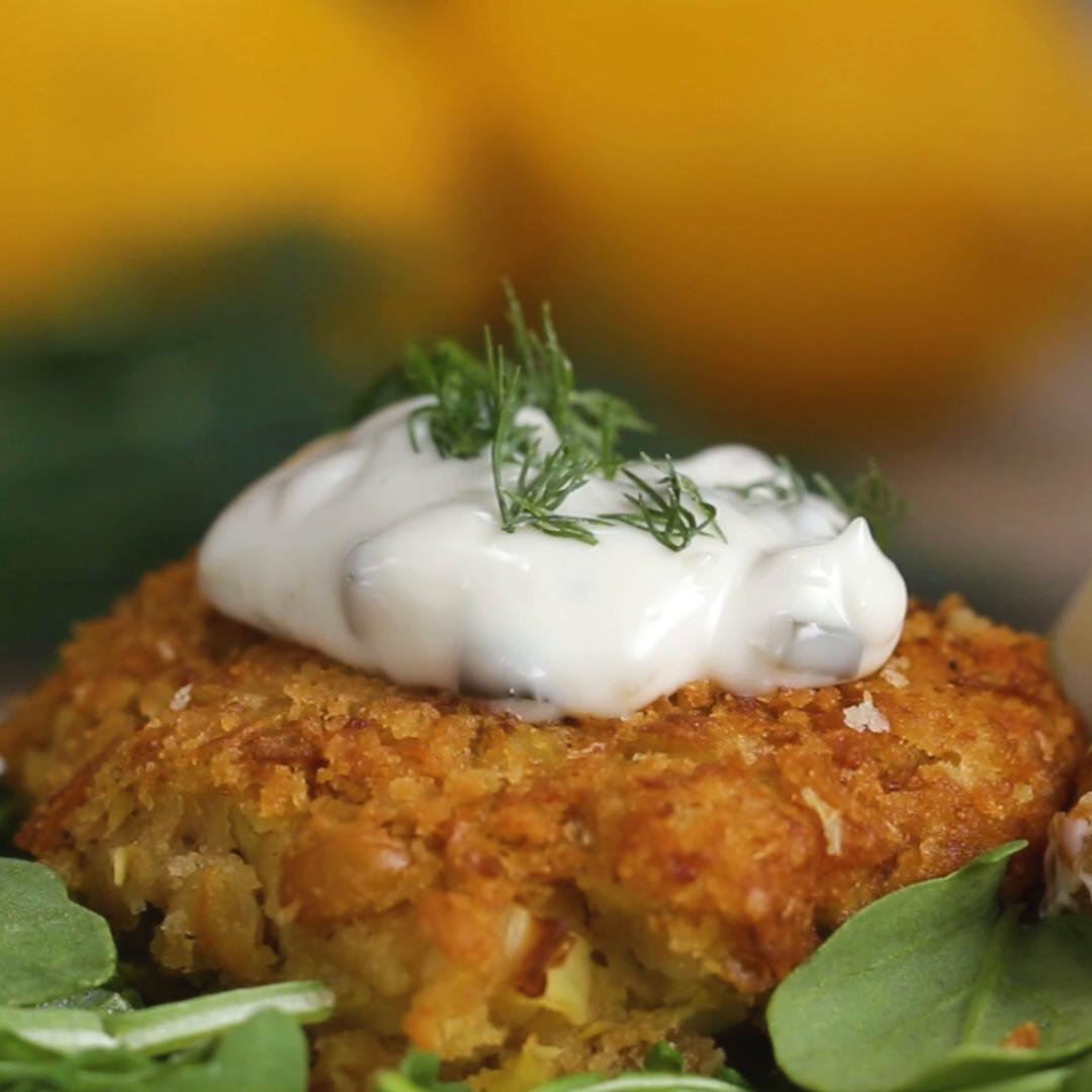 Vegan Crab Cakes Artichoke