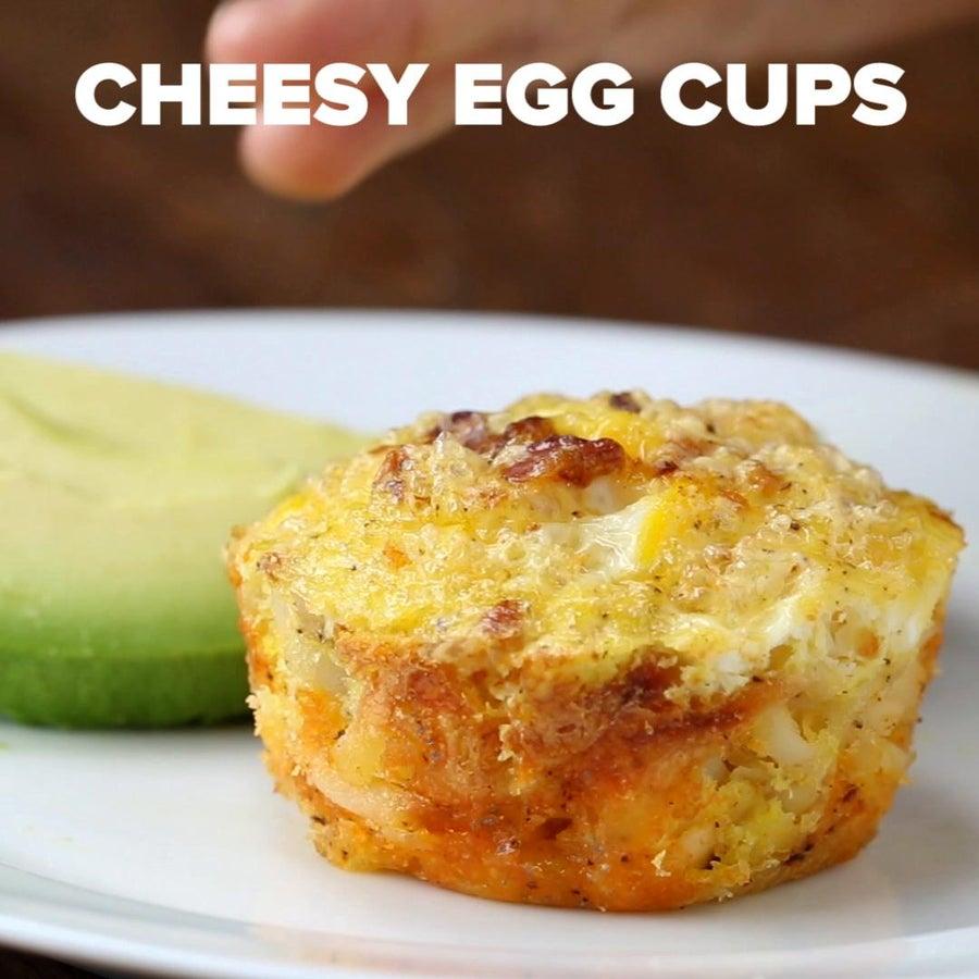 Make-ahead Cheesy Egg Cups