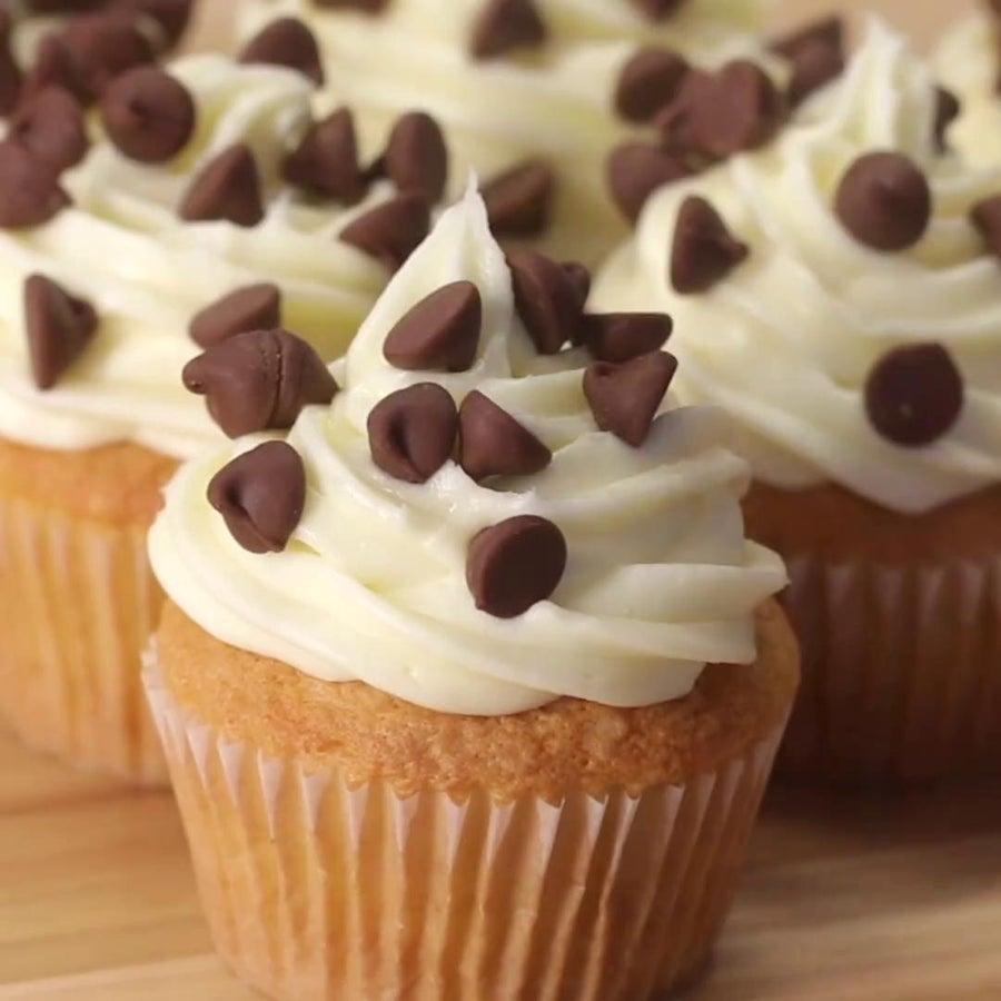 Cookie Dough 'Box' Cupcakes