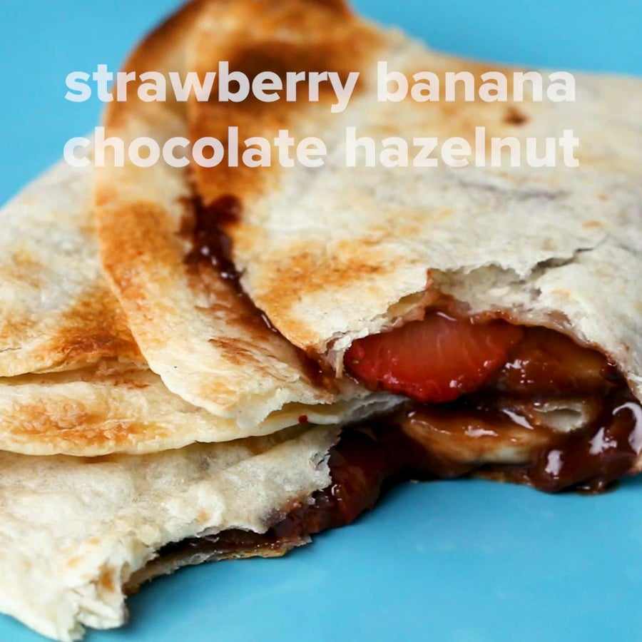 Strawberry Banana Chocolate Hazelnut Toaster
