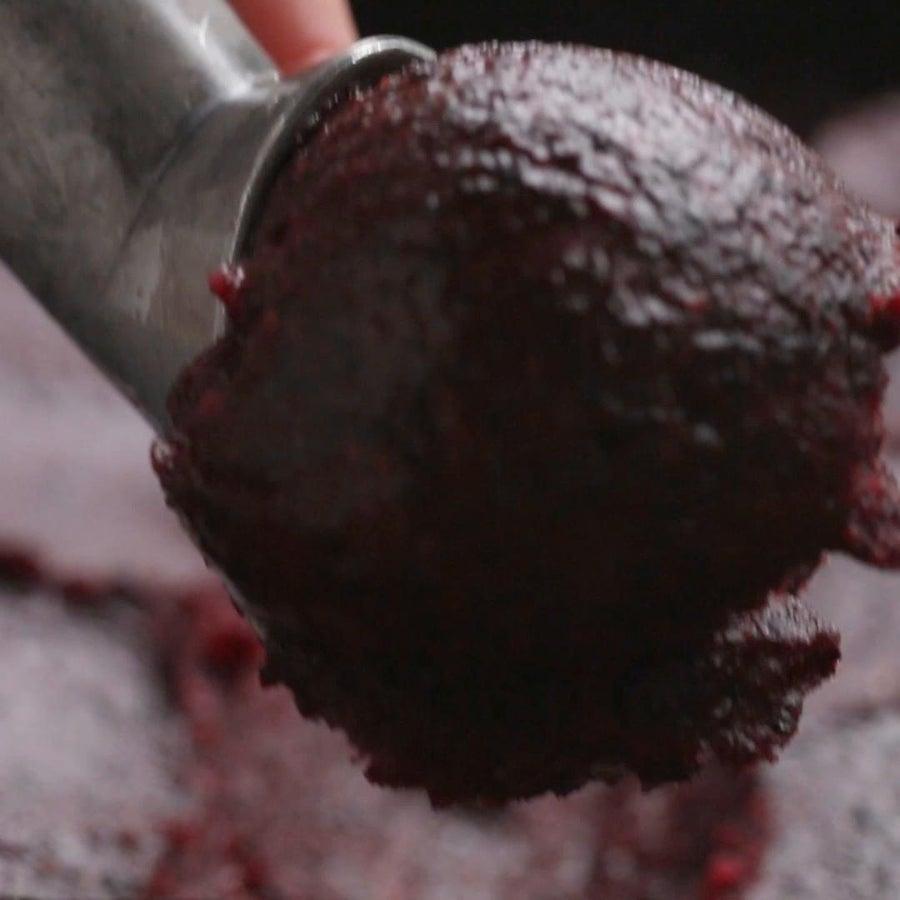 Blueberry 2-ingredient Sorbet