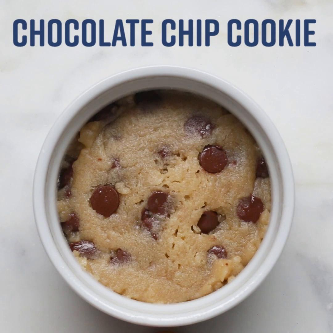 Microwave Chocolate Chip Cookie Recipe By Tasty