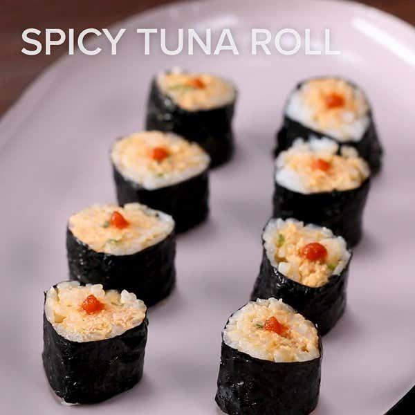 Philadelphia Roll Recipe By Tasty