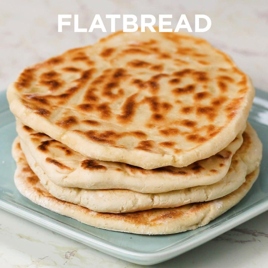 4-Ingredient Gluten-Free Dough Flatbread