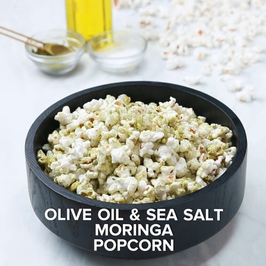 Olive Oil Sea Salt Moringa Popcorn