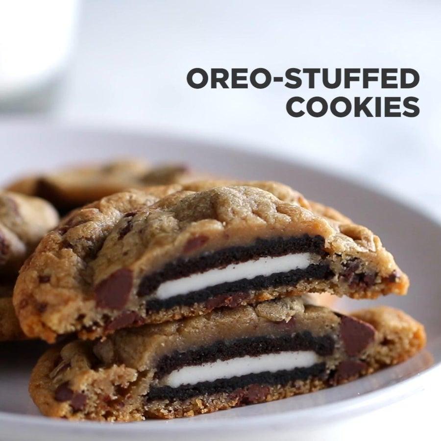 Cookies & Cream-stuffed Cookies