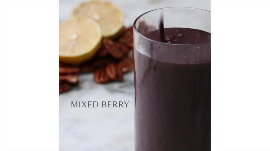 Mixed Berry Freezer-Prep Smoothie
