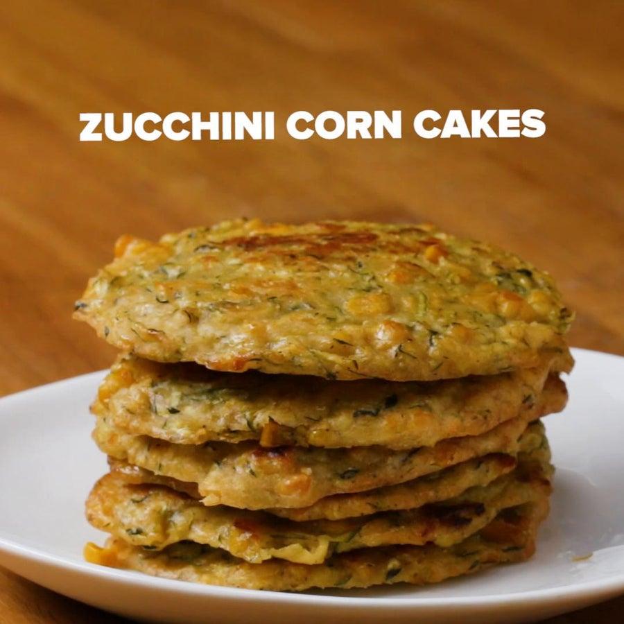 Corn And Zucchini Cakes