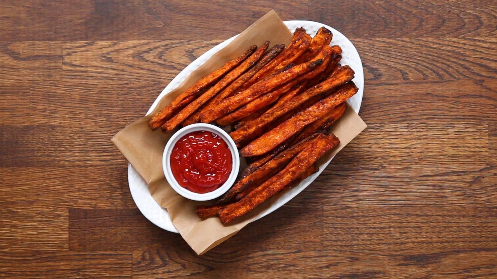 Ultimate Sweet Potato Fries